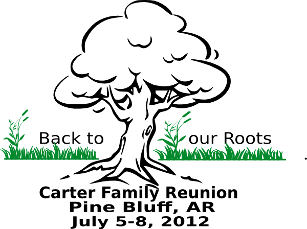 Family Reunion Tree Vector