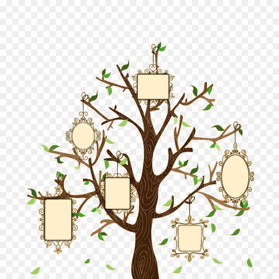 900x900 Family Tree Euclidean Vector Illustration