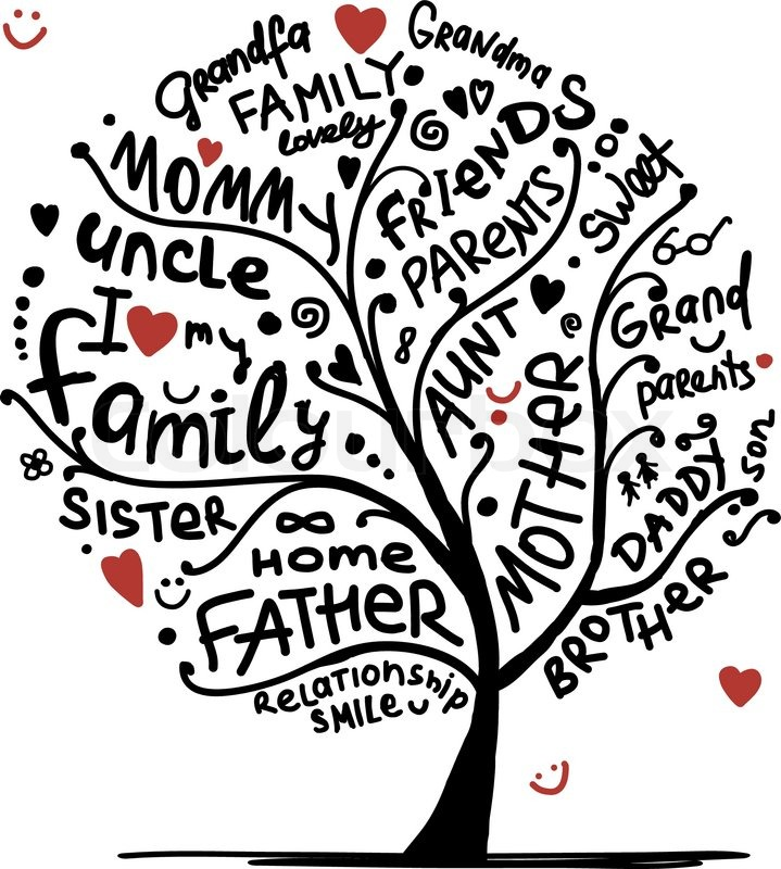 Family Reunion Tree Vector At Getdrawings Com Free For Personal