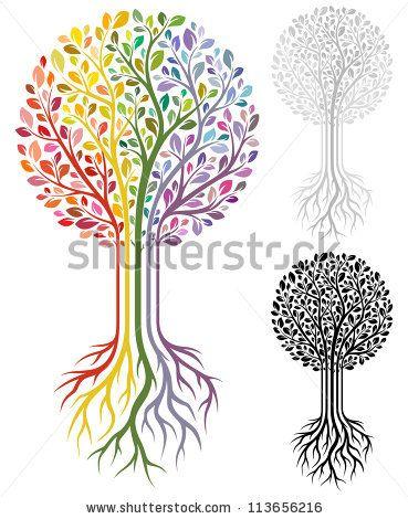 369x470 Vector Tree