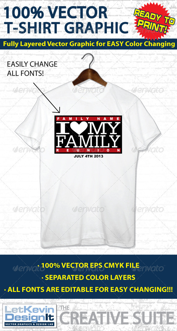 590x1100 Family Reunion Vector T Shirt Graphic By Letkevindesignit