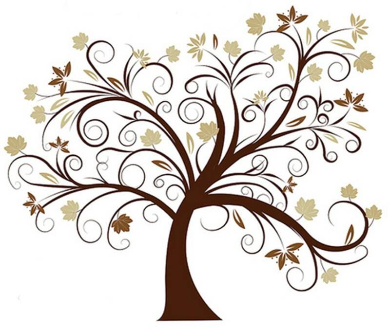 800x678 Family Tree Vector Clipart