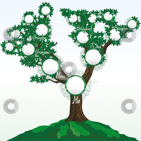450x450 Family Tree Stock Vector