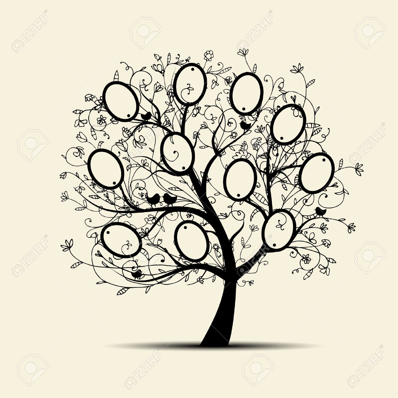 1300x1300 Grand Aspire Family Tree Frame Wall Decor Reviews Wayfair Similiar