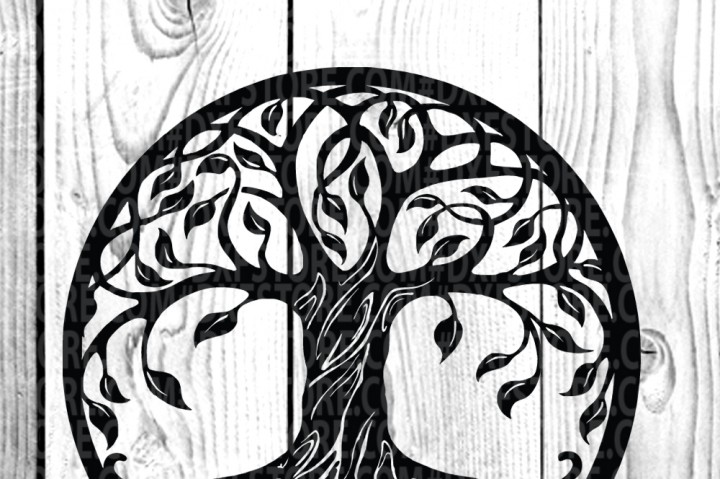 720x479 Life Of Tree , Tree Tattoo ,tree Vector,family Tree By Dxf Store
