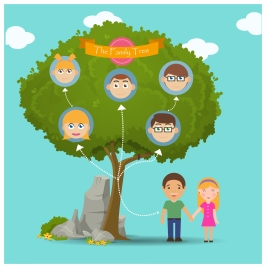 266x268 Vector Illustration Family Tree Vectors Stock For Free Download
