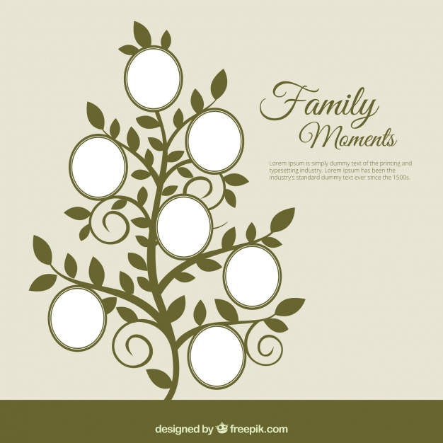 Family Tree Vector Free