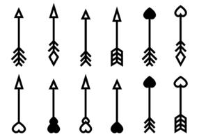 286x200 Arrow Free Vector Art