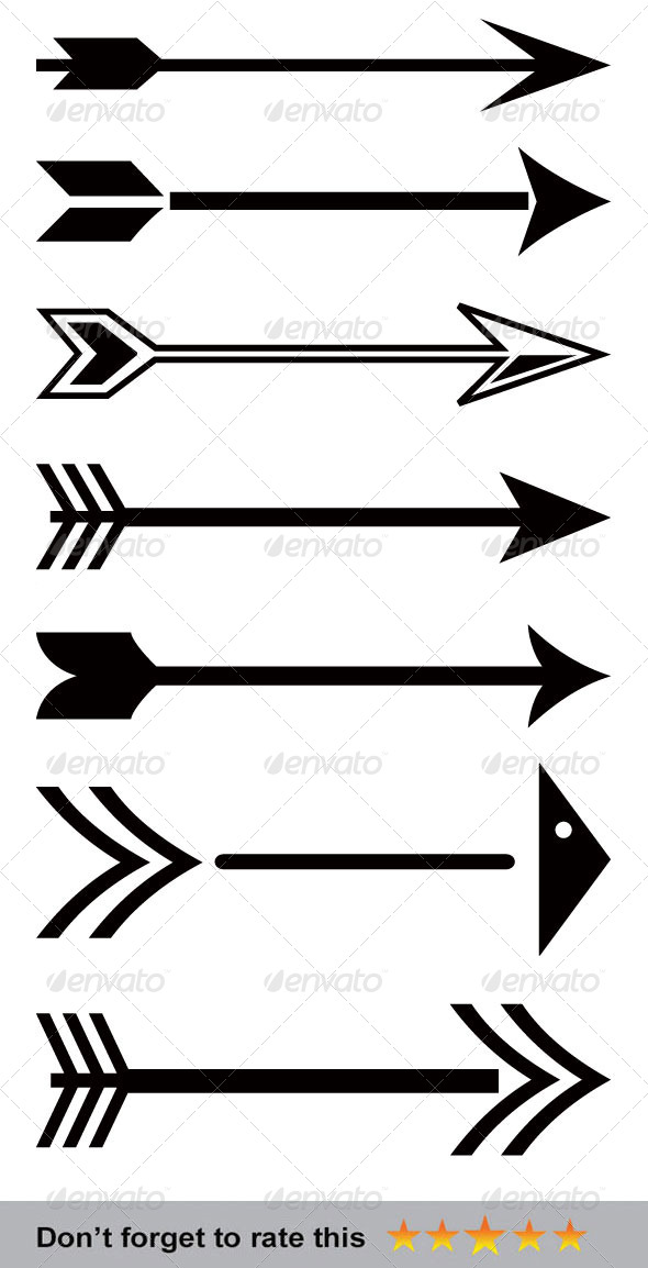 590x1154 Arrows By Orcshape Graphicriver