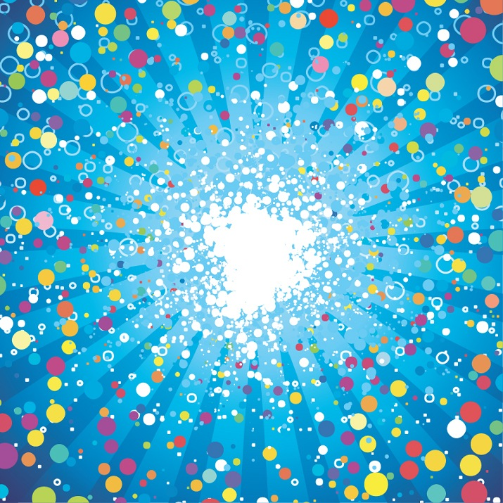 715x715 Abstract Fancy Dots Background Vector Free Vector Graphics All