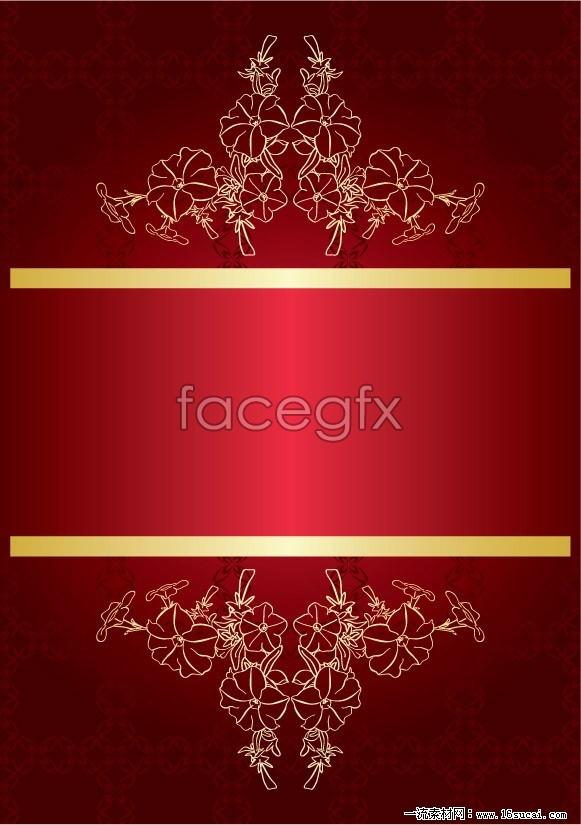 581x825 Red Fancy Background Vector Graphics Over Millions Vectors