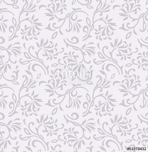 487x500 Seamless Fancy Floral Background Design Stock Image And Royalty