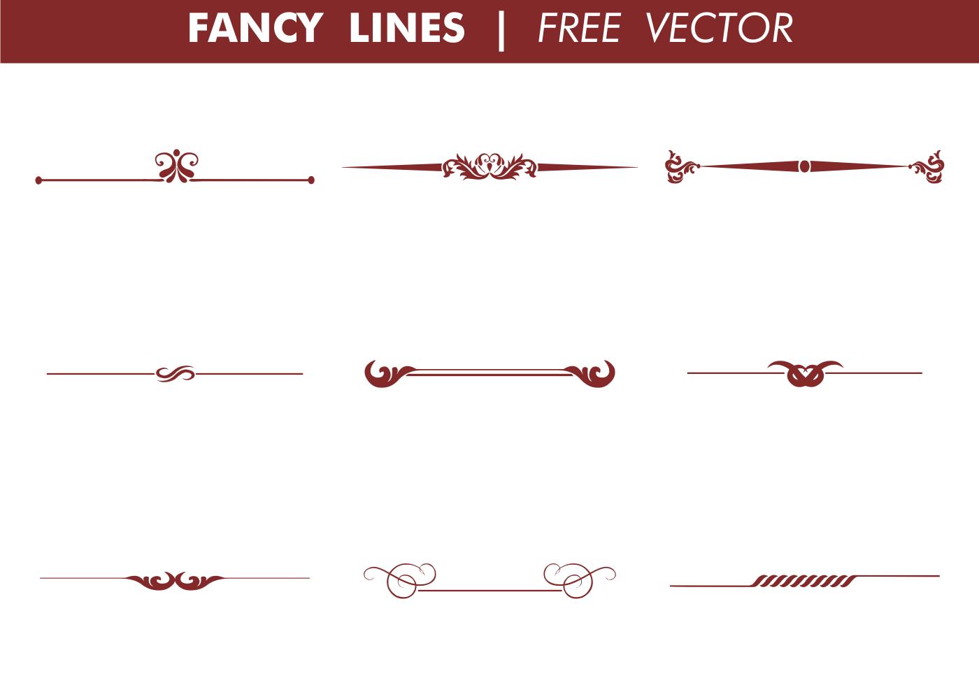1400x980 Decorative Fancy Lines Vector