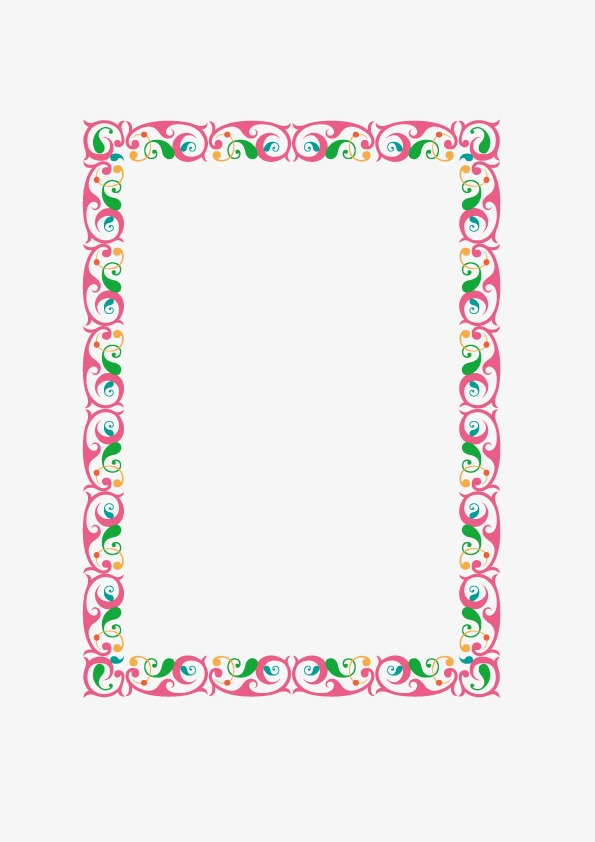 595x842 Fancy Borders, Frame, Lace, Vector Png And Vector For Free Download
