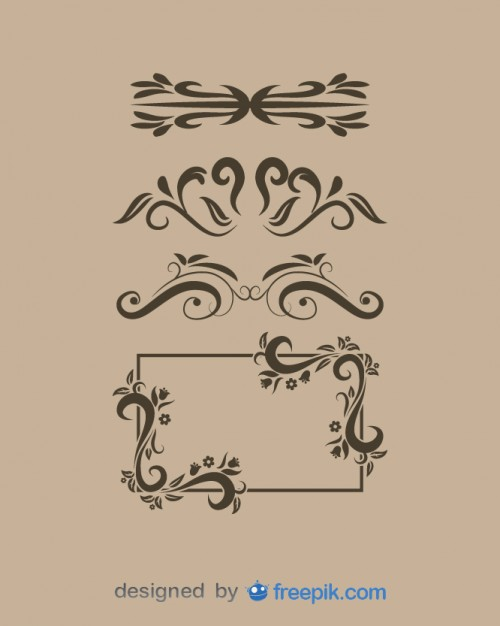 500x626 Fancy Frame Vectors, Photos And Psd Files Free Download