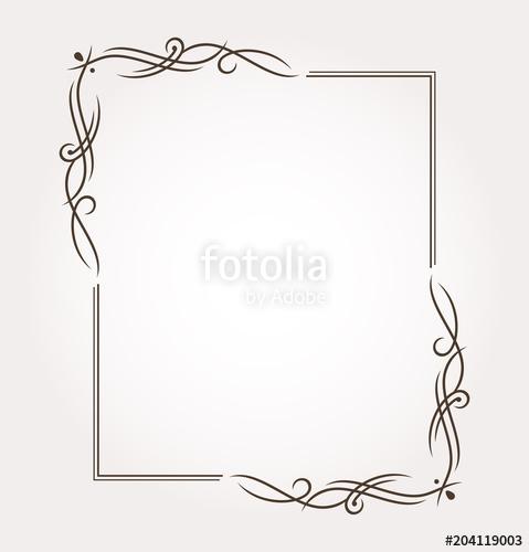479x500 Fancy Frame