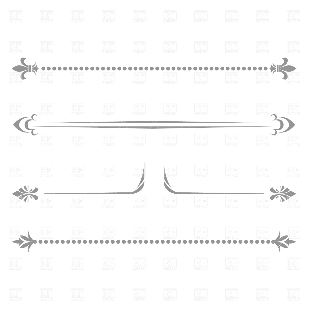 1200x1200 Decorative Line Vector Image Vector Artwork Of Borders And