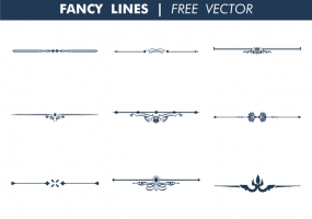 285x200 Fancy Line Free Vector Graphic Art Free Download (Found 9,651