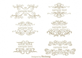 285x200 Fancy Line Ornament Free Vector Graphic Art Free Download (Found