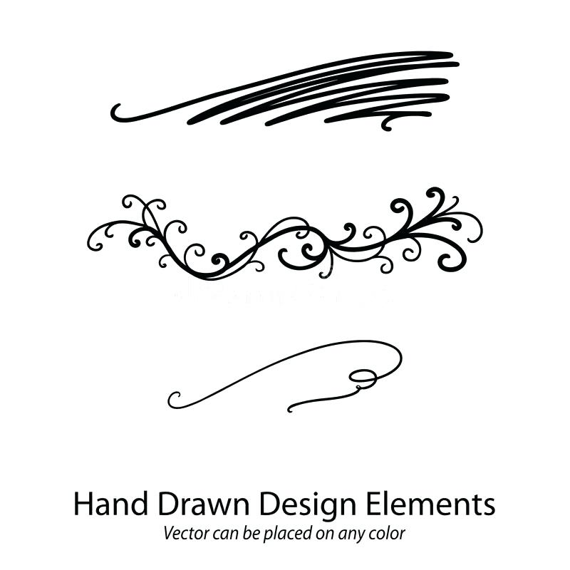 800x800 Fancy Divider Vector Design Element Beautiful Fancy Curls And