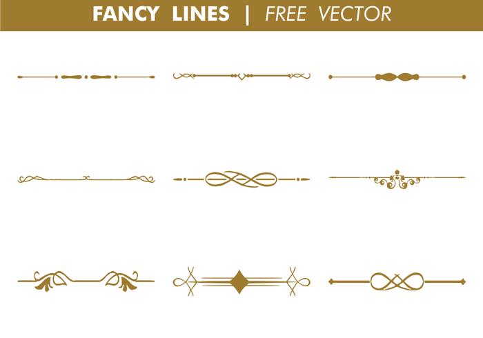 700x490 Decorative Fancy Lines Vector