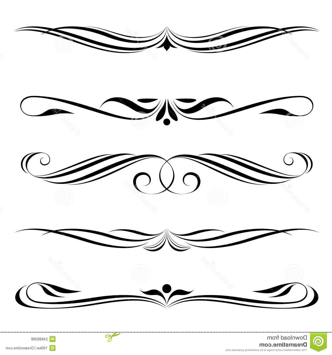 1300x1390 Cho Vector Fancy Lines Pattern Vector