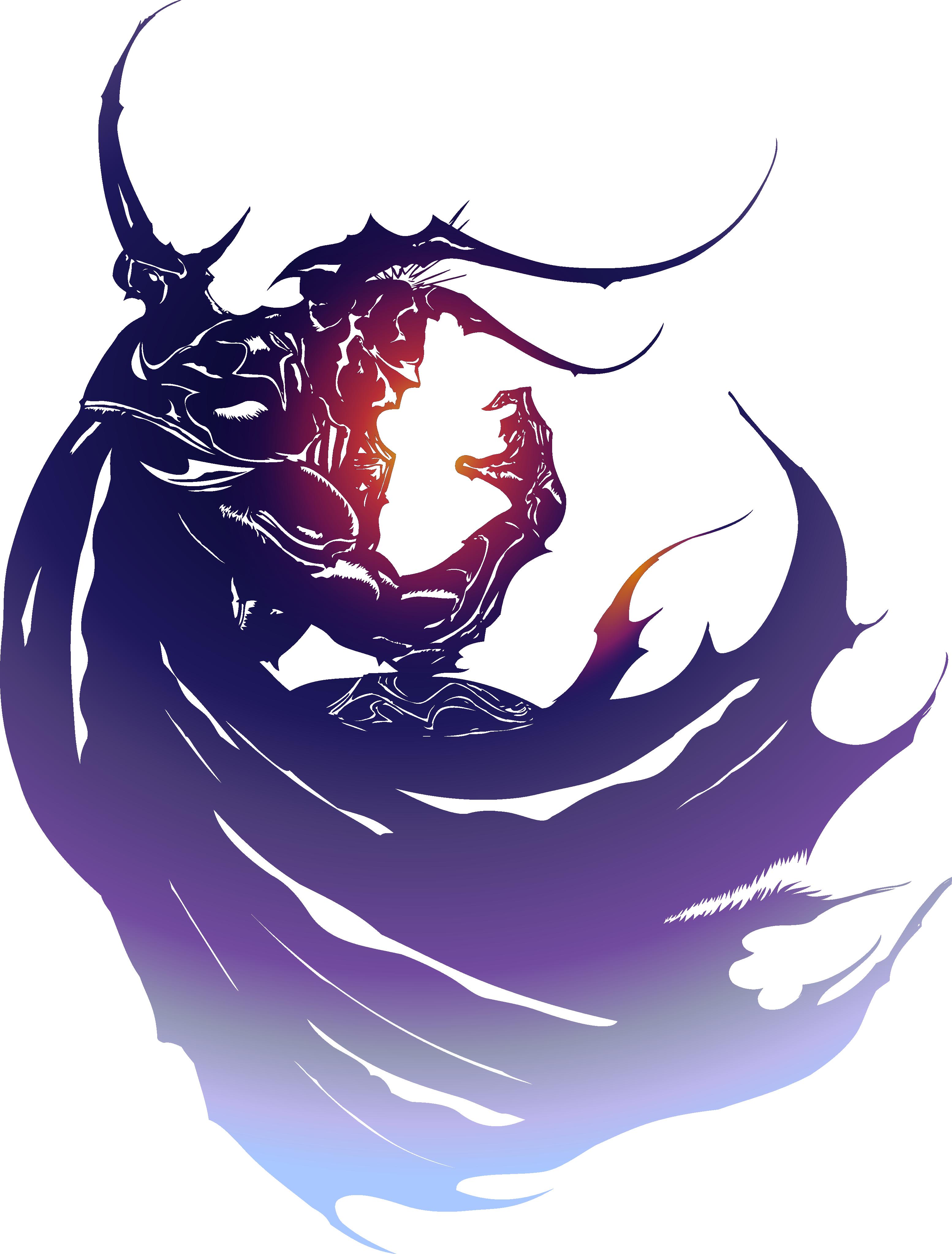 3107x4091 Final Fantasy Iv Logo By Eldi13