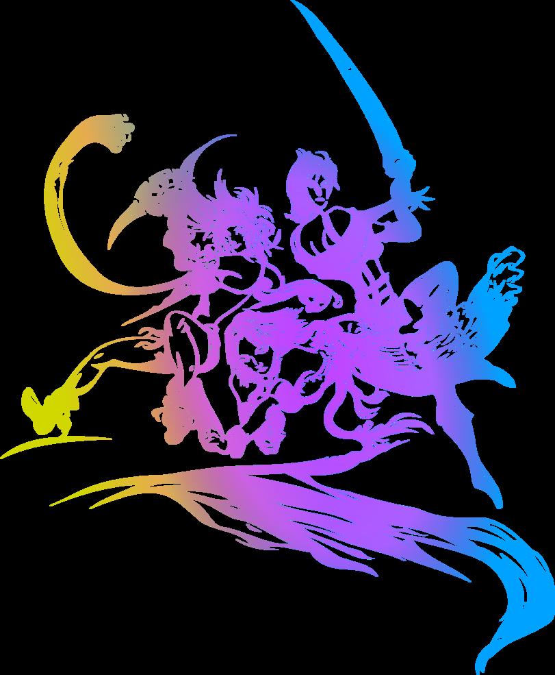 811x985 Final Fantasy X 2 Logo By Eldi13