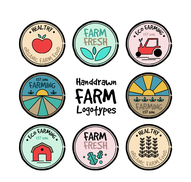 Farm Logo Vector