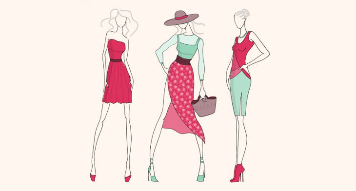730x392 Fashion Vectors