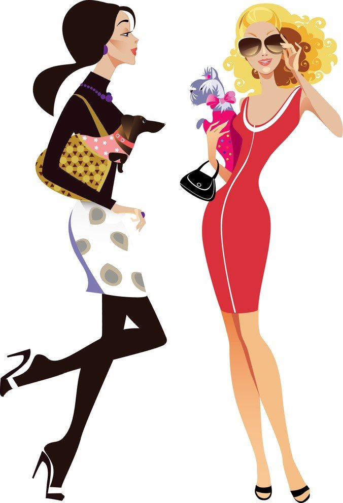676x992 Free Female Fashion Illustrator 01 Psd Files, Vectors Amp Graphics