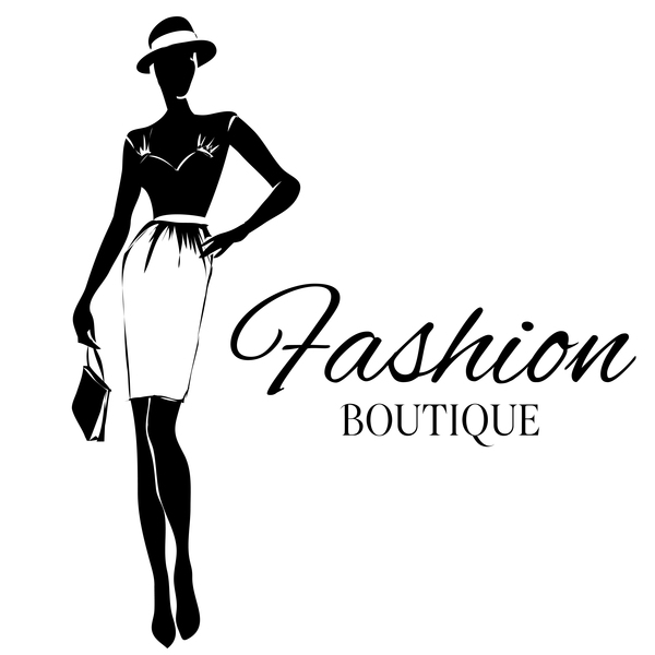 600x600 Girl With Fashion Boutique Illustration Vector 09 Free Download