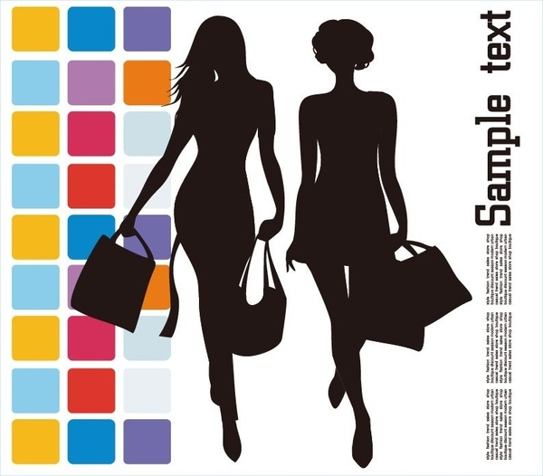600x526 Fashion Shopping Vector Illustration Free Vector In Encapsulated