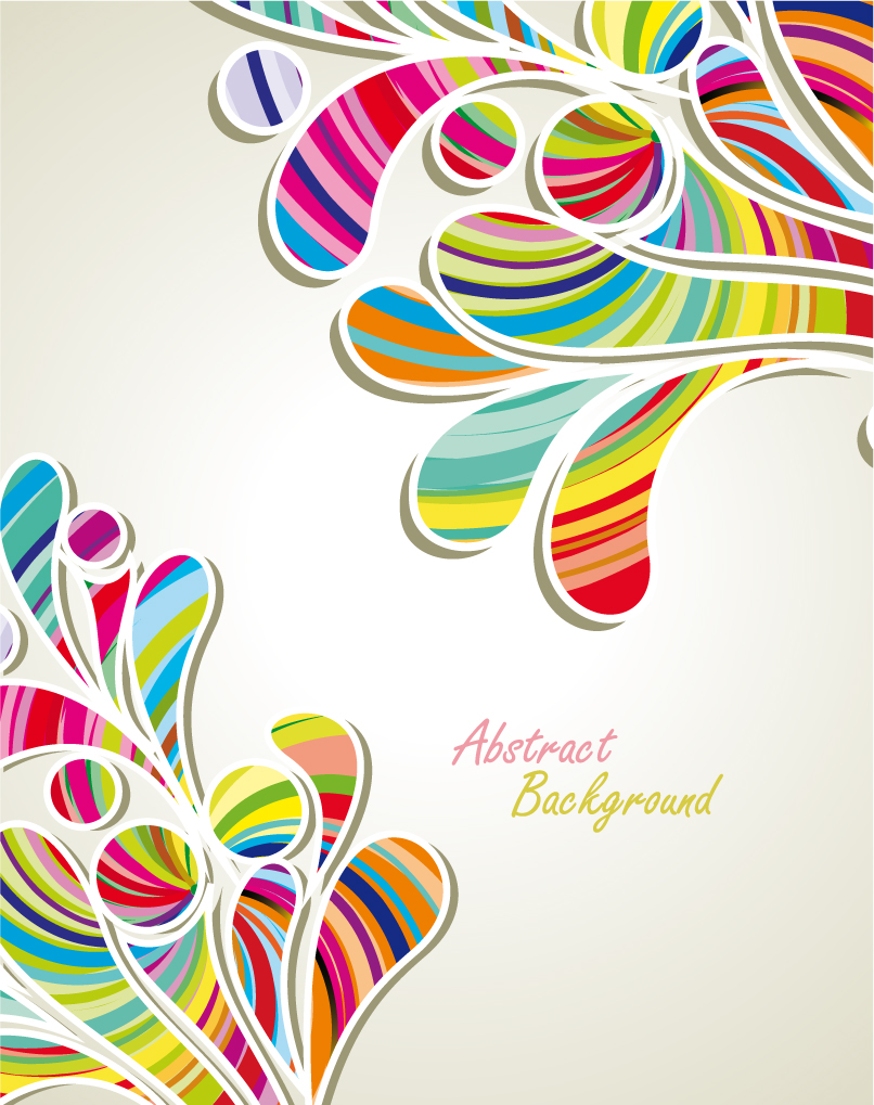 806x1019 Fashion Pattern Background 04 Vector Free Vector 4vector