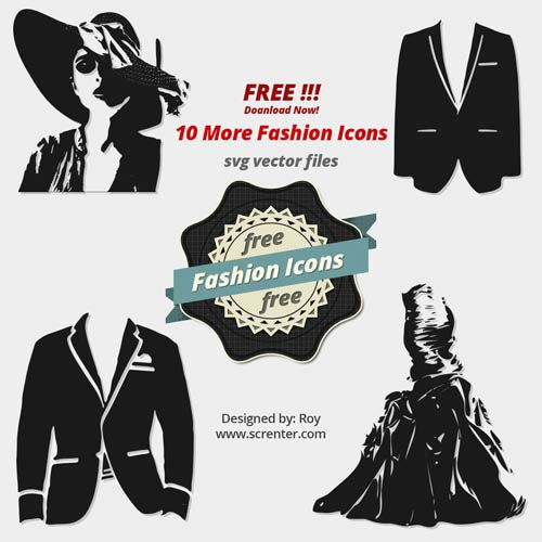 500x500 Free Fashion Vector Icons Vector Background, Vector Graphics