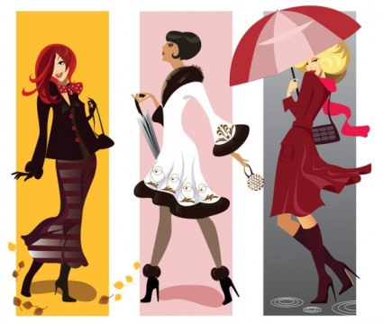 425x359 Fashion Girl Illustrator Vector Vector People Free Vector Free