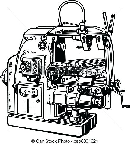 427x470 Fax Machine Pictures Clip Art Vector Of Machine Tool Machine