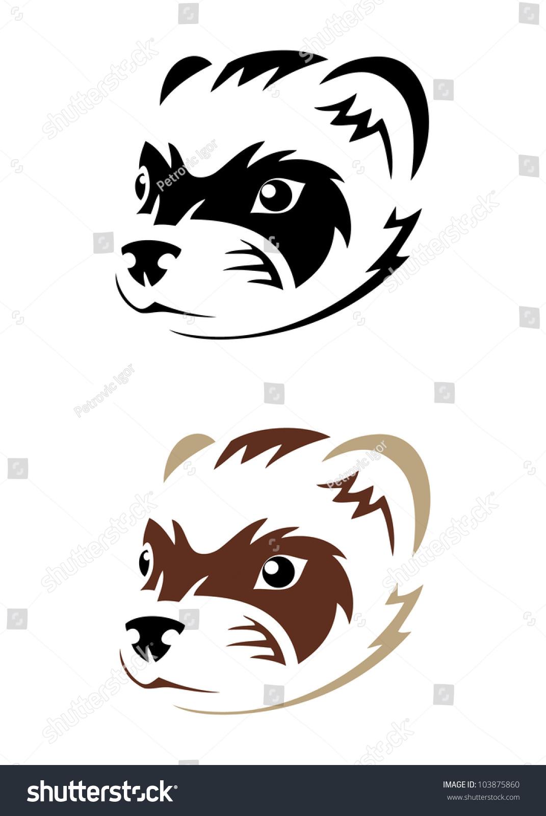 1071x1600 Ferret Clipart Bulldog