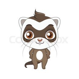 260x260 Download Ferret Vector Animation Clipart Ferret
