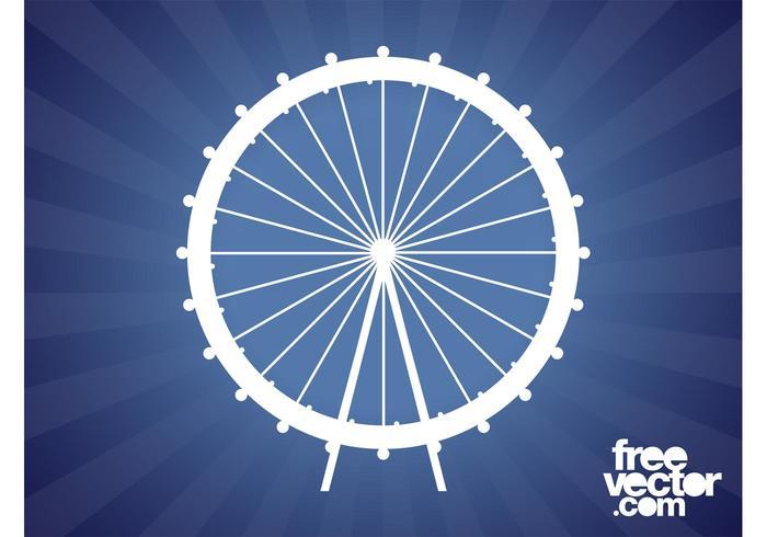 700x490 Ferris Wheel Silhouette