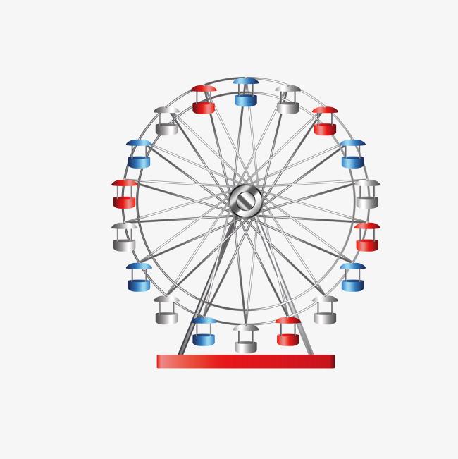 650x651 Ferris Wheel Vector, Game, Happy Valley, Adventure Png And Vector