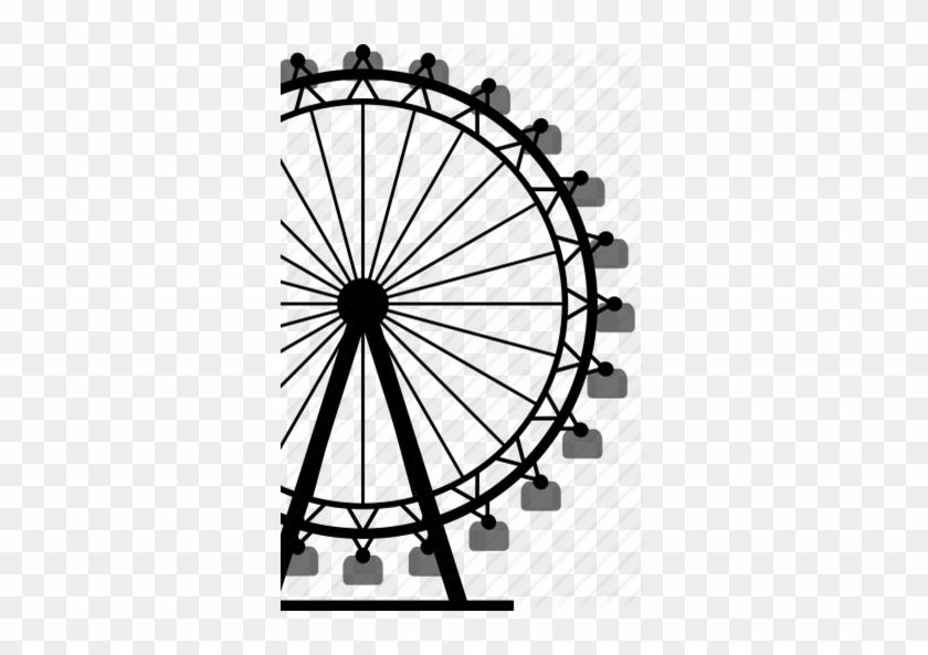 840x593 Ferris Wheel Vector Png