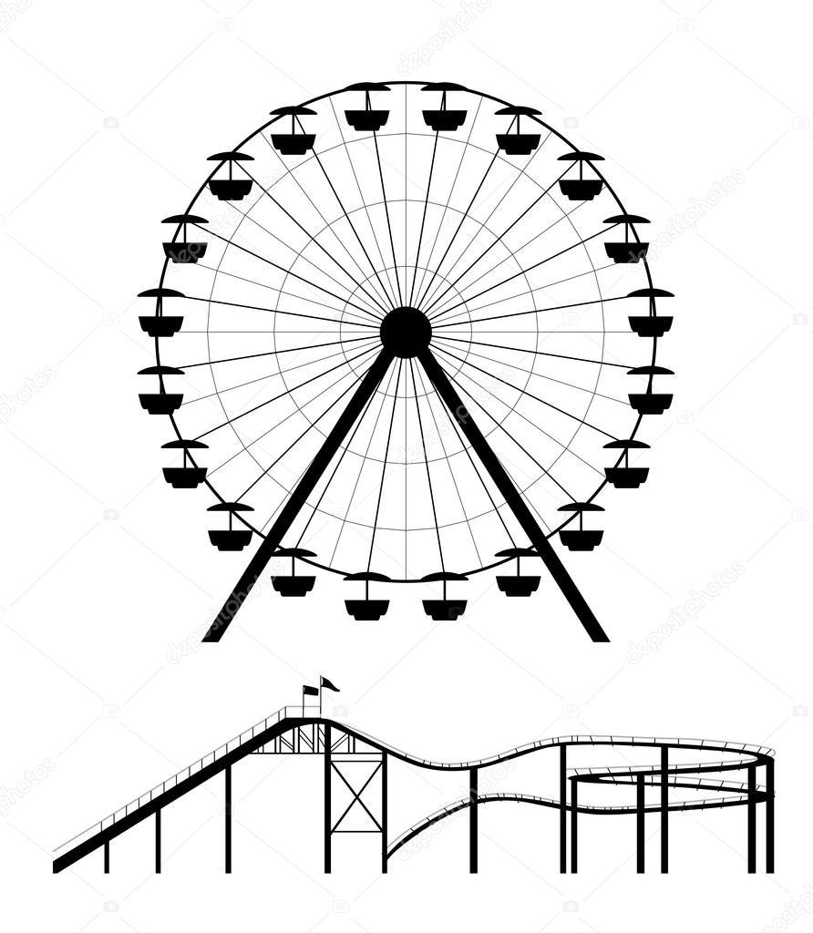 Ferris Wheel Vector Free Download