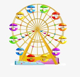 265x254 Ferris Wheel, Wheel Vector, Ferris Vector Png And Vector For Free
