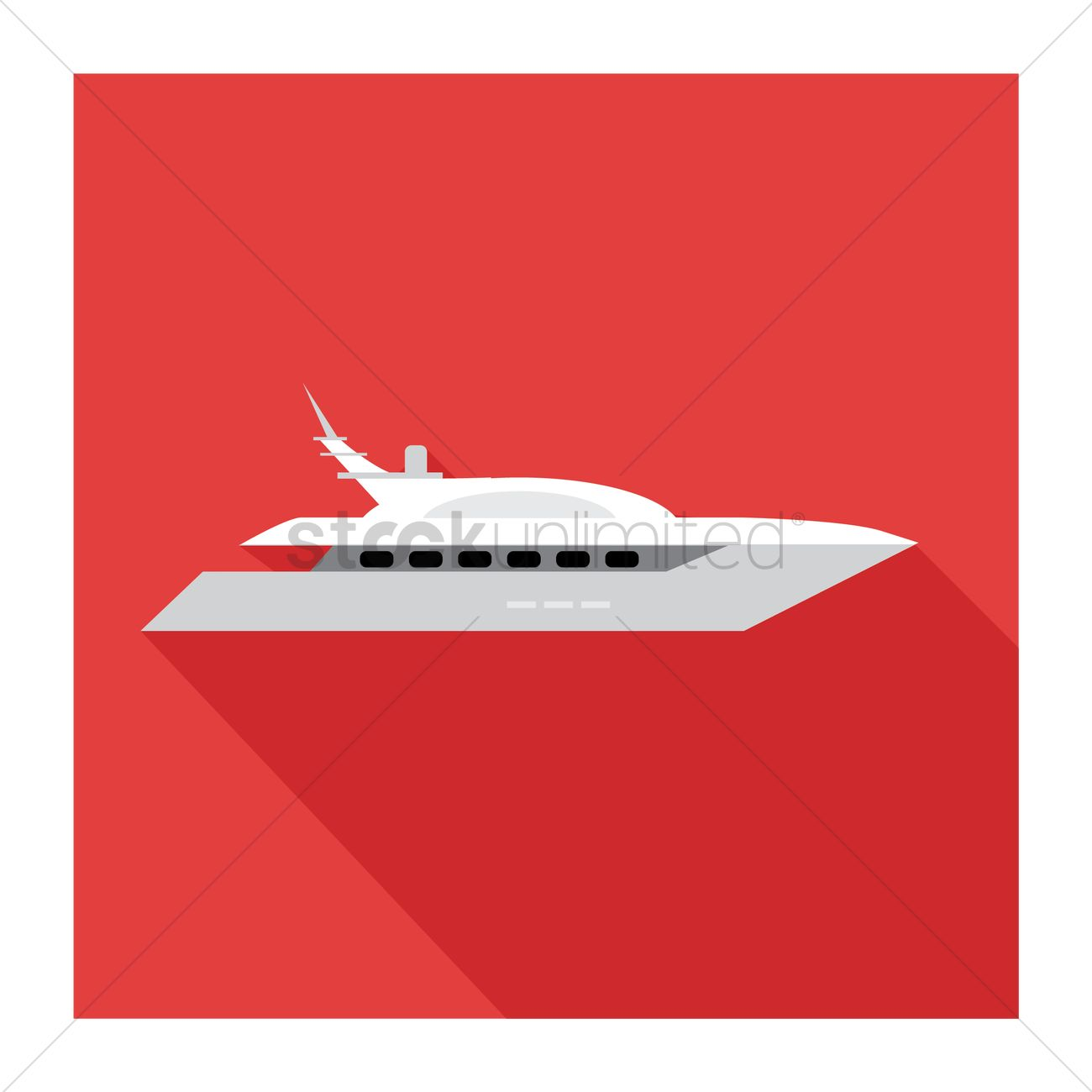 1300x1300 Ferry Vector Image