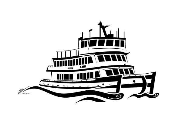 600x424 Codemand Trading 18 Hour Loose Style Harbor Ferry Vector