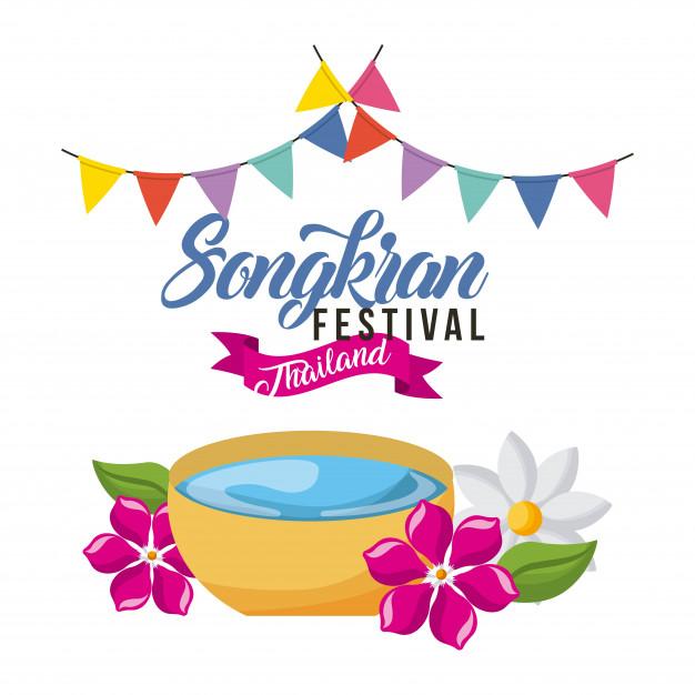 626x626 Songkran Festival Vector Premium Download