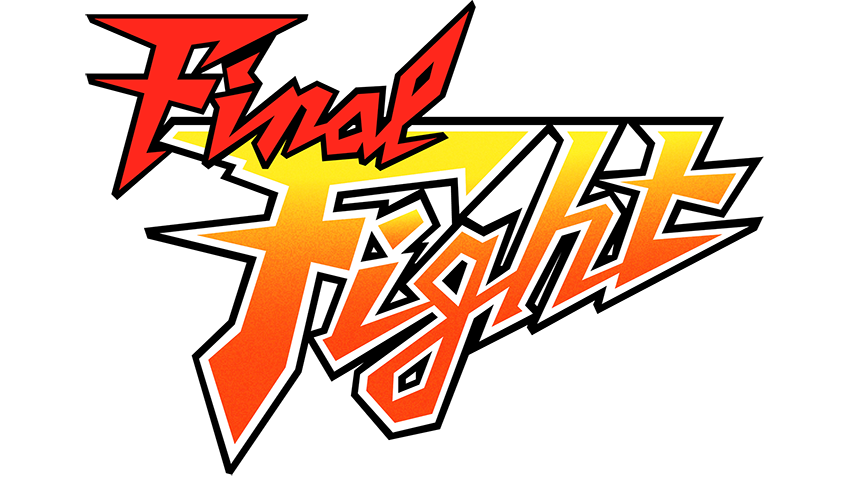 864x486 Final Fight Vector Logo (1989) By Imleerobson