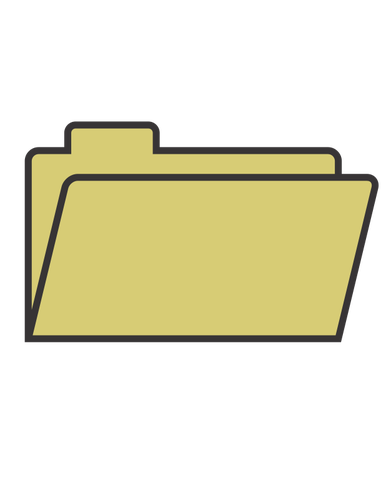 386x500 File Folder Vector Illustration Public Domain Vectors