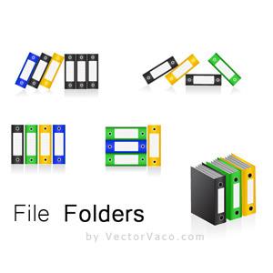300x300 Folder Icons Vector